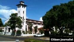 Reporta Cuba Santa Rita, marchas y reunión Parque Gandhi