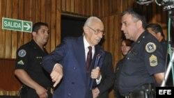 El exdictador argentino Jorge Videla, principal imputado.
