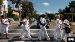 Damas de Blanco.