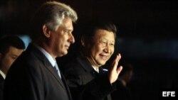 Xi Jinping llega a La Habana.