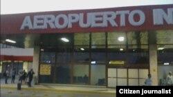 Reporta Cuba. Aeropuerto Santiago de Cuba. Foto: @jdanielferrer.