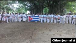 Reporta Cuba Damas de Blanco Habana Foto cortesía de Agustin López