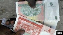 cuba/ cambios /dinero