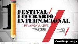 Festival Literario Internacional Santa Cruz de las Letras.