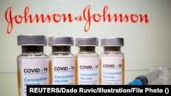 Vacuna Johnson & Johnson de dosis única contra el COVID-19. (REUTERS/Dado Ruvic/Illustration/File Photo)