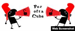 Logo de la campaña Por Otra Cuba /Garrincha