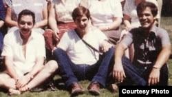 Círculo familiar: Raúl Castro, su hijo Alejandro (c) y el que sería su yerno, Luis Alberto Rodríguez López-Calleja. (Cuba al Descubierto)