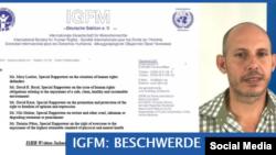 La sección alemana de la ISHR pide investigación sobre Ariel Ruiz Urquiola, biólogo cubano.