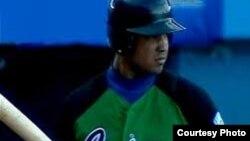 """José Dariel """"PIto"""" Abreu, primera base del Cienfuegos, podría firmar el mayor contrato de un pelotero cubano en las Grandes Ligas."""