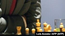 Partido de ajedrez (Luis Acosta/AFP)