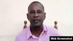 El opositor Tomás Núñez Magdariaga, miembro de la UNPACU en Palma Soriano, en Santiago de Cuba. (Archivo)
