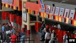 Aeropuerto Internacional José Martí, de La Habana.
