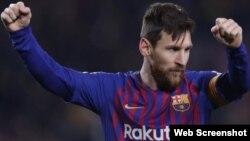 El futbolista argentino, Leonil Messi