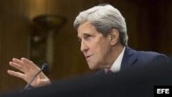El secretario de Estado John Kerry anuncia reunión con el canciller ruso, Serguéi Lavrov