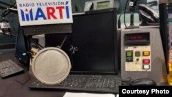 Estudio de Radio Marti