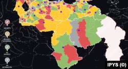 Mapa de prensa en Venezuela
