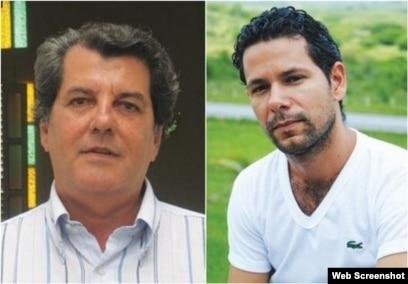 Oswaldo Payá y Harold Cepero.