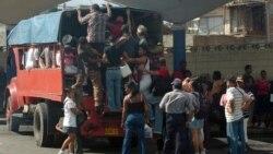 Autoridades reconocen paro transportista en Santiago de Cuba