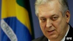 El ministro de Relaciones Exteriores de Brasil, Luiz Alberto Figueiredo.