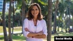 María Elvira Salazar . Tomado de @MaElviraSalazar