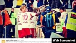 El francés Thierry Henry juega en los Red Bulls de Nueva York