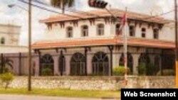 La embajada de Canadá en La Habana está ubicada en el residencial barrio de Miramar.
