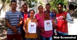 Activistas expresan apoyo a Jorge Cervantes