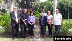 Reunión en La Habana sobre DDHH entre Mara Tekach y miembros de la sociedad civil cubana.