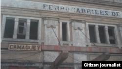 Reporta Cuba Terminal de Trenes Camagüey foto Daniel Millet.