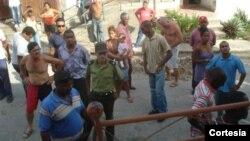 Distribuyen octavillas en Palma Soriano