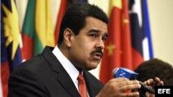Nicolás Maduro, en Naciones Unidas.