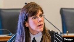 Yleem Poblete, nombrada al Consejo de Seguridad Nacional por Trump.