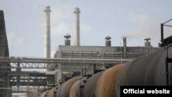 Fábrica de cemento en Cuba.