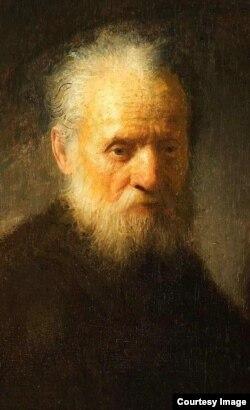 Hombre viejo con barba - Rembrandt (1606-1669)