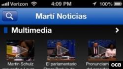 Marti smartphone app