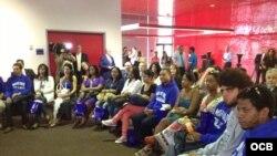 Estudiantes cubanos en Miami Dade College