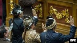 El parlamento tomó juramento a los diputados del Amazonas