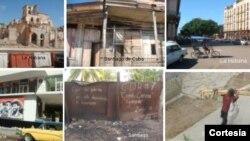 Imagenes de La Habana y Santiago de Cuba. Cortesía de Yusmila Reyna Ferrera