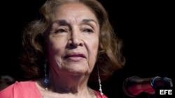 Actriz puertorriqueña Miriam Colón.