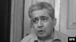 José Lezama Lima, escritor cubano (La Habana 1910-1976). Foto de Archivo.