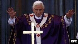 """El papa recalcó en su misiva la necesidad de edificar en Venezuela """"una sociedad más justa y solidaria""""."""