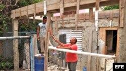 Cuba, construcción.