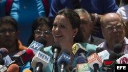 María Corina Machado rechaza el diálogo con Maduro