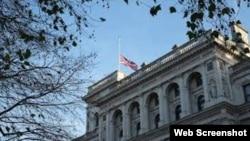 Embajada Británica en La Habana, foto publicada en el sitio de Facebook de la sede diplomática.