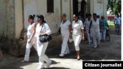 Foto @ivanlibre Damas de Blanco Matanzas.