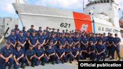 El buque Valiant. (Foto de la Guardia Costera)