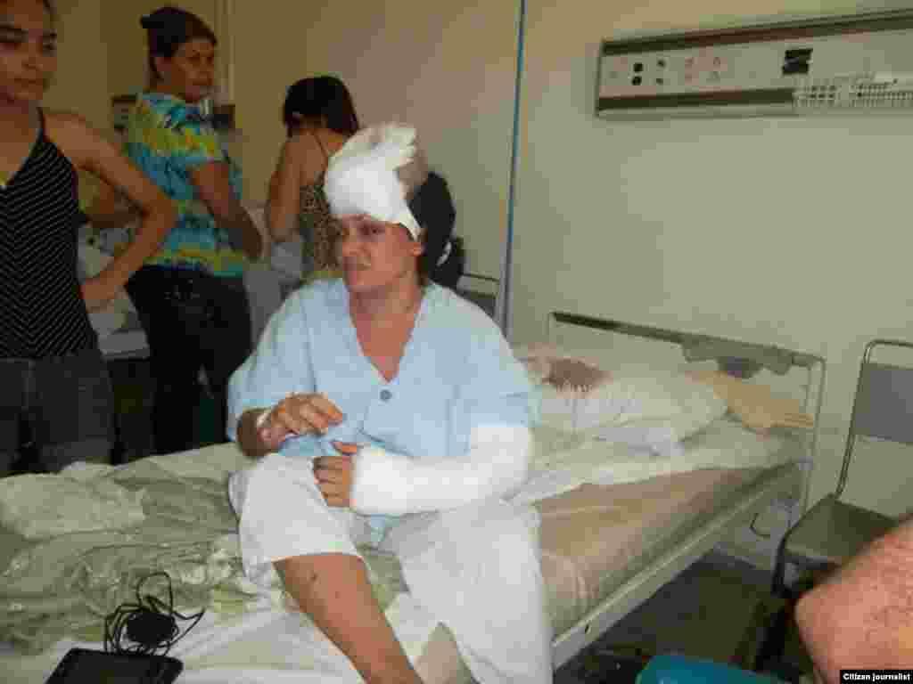 Lidyan Juana Quevedo, otra de las afectadas por el derrumbre. También residente en la vivienda, tuvo que ser intervenida quirúrgicamente, dos veces, la madrugada del día 8 de febrero.