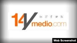 Logo del diario digital de Yoani Sánchez 14ymedio.com