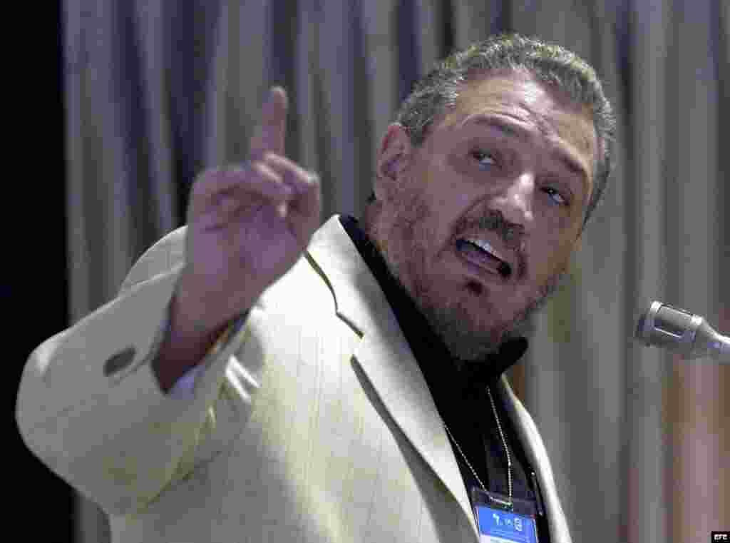 Archivo - Fidel Castro Díaz-Balart fue director del Instituto de Física Nuclear de Cuba y es asesor científico de la Asamblea Nacional.