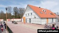 Vista del Centro para refugiados Luttelgeest en Holanda.
